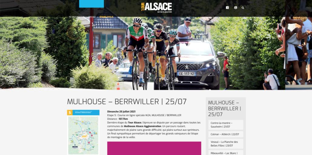 Tour Alsace 2021